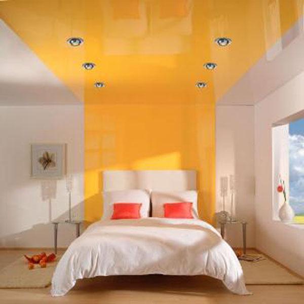 потолок: